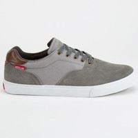 Dekline Wayland Mens Shoes Mid Grey/Pewter  In Sizes