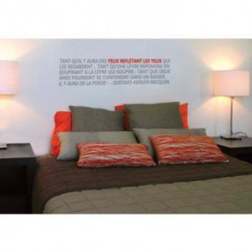 ADZif Blabla Poetry Wall Decal - T3106 - All Wall Art - Wall Art & Coverings - Decor