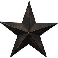 Antique Black Barn Star