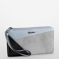 arslyne three leather patchwork wrist wallet | White Label | Calvin Klein
