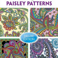 Dover Publications Book, Creative Haven Paisley Pattern (Creative Haven Coloring Books)