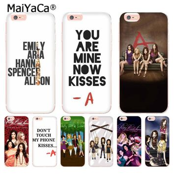 MaiYaCa Pretty Little Liars Top Detailed Popular Case for Apple iPhone 8 7 6 6S Plus X 5 5S SE 5C case Cover