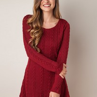 Fashion Round Neck Long Sleeve Solid Color Pullover Sweater - NOVASHE.com
