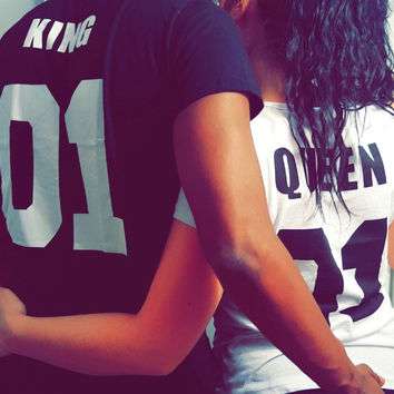 King/Queen Design For Couples! Hot sale