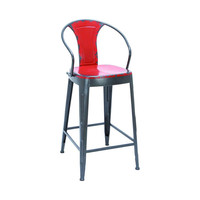 Siren Retro Bar Chair in Red