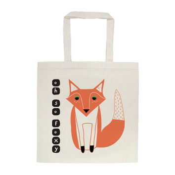 Oh So Foxy Tote Bag