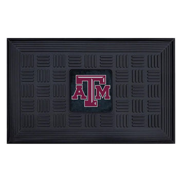 Texas A&M Aggies NCAA Vinyl Doormat (19x30)