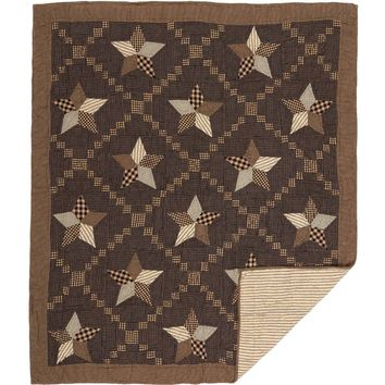 Farmhouse Star Throw