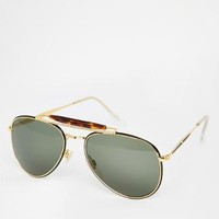 Hindsight Vintage | Hindsight Vintage Kirkpatrick Round Sunglasses at ASOS