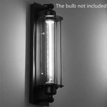 Edison Light 40W E27 Bedside Wall Fixtures Home Decoration Wall Lights Loft Vintage Wall Lamps American Industrial Wall Light