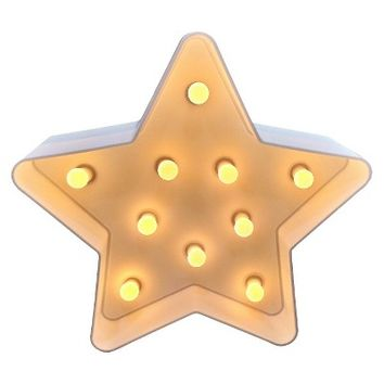 Xhilaration® Star Marquee Light