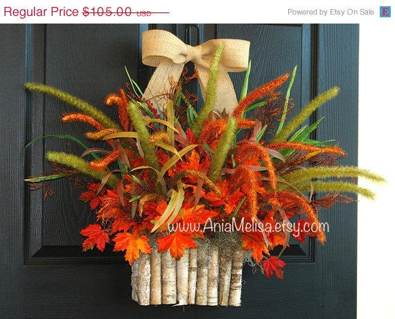 Wreaths On Sale Fall Wreath Fall Autumn From Aniamelisa On