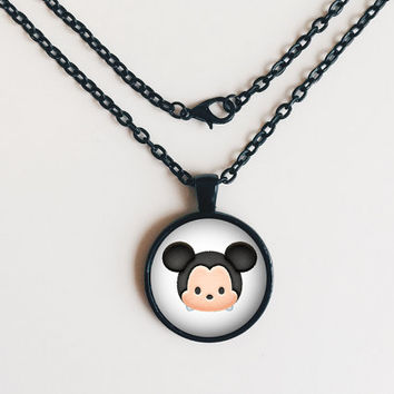 Mickey Mouse Tsum Tsum Necklace or Keychain