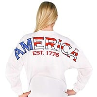 American Prep Spirit Jersey in White by Full Time American