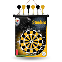 Pittsburgh Steelers NFL Magnetic Dart Board