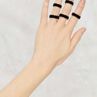 Stay in Touch 5-pc Velvet Ring Set