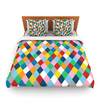 "Project M ""Harlequin Zoom"" Lightweight Duvet Cover"
