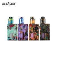 Original Aleader Funky Squonk Resin Kit Electronic Cigarette With 7ml Capacity Silicone Squonk Bottle Vape kit Powered by 18650