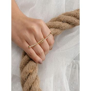 Knot Decor Ring 1pc