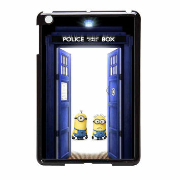 Minions Despicable Me Police Box iPad Mini Case