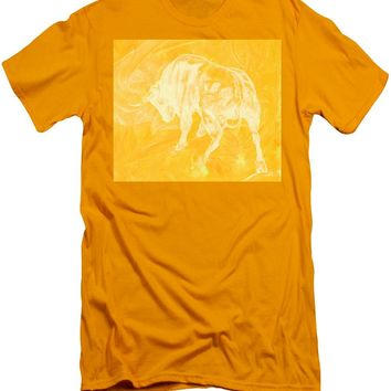 Yellow Bull Negative - Men's T-Shirt (Athletic Fit)