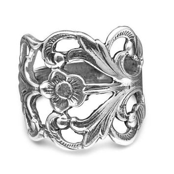 Hazel Silver Spoon Ring