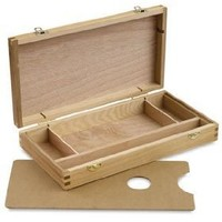 Art Alternatives Artist`s Sketch Box with Palette - 2-1/8H times; 12-1/2W times; 6-1/2D