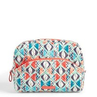 Vera Bradley Iconic Large Cosmetic Go Fish
