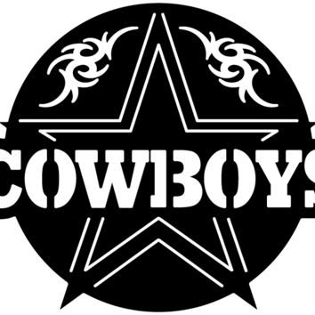 Cowboys Star and Ornaments