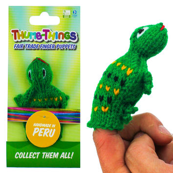 Toad Finger Puppet