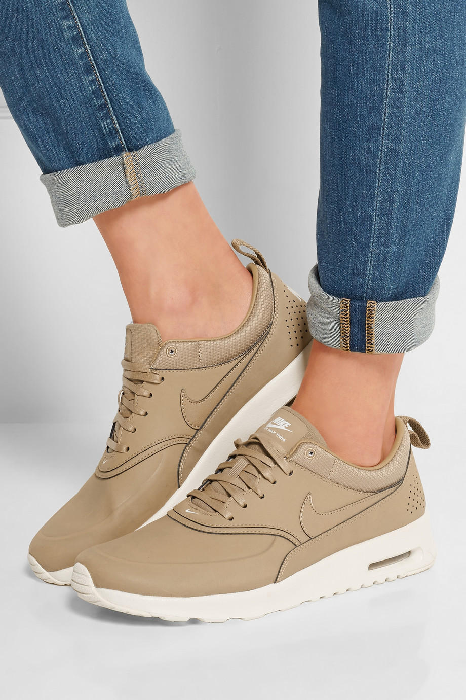 Nike - Air Max Thea leather sneakers from NET-A-PORTER  d211d6c4e