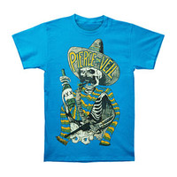 Pierce The Veil Men's  Hombre T-shirt Blue Rockabilia