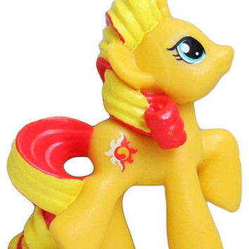 MY LITTLE PONY  G4 Sunset Shimmer minifigure Mini Figure 2 inches