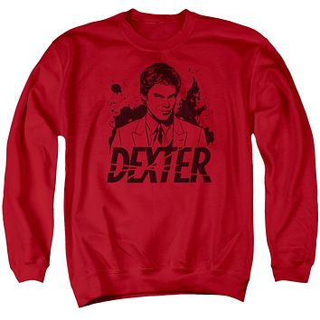 Dexter - Splatter Dex Adult Crewneck Sweatshirt