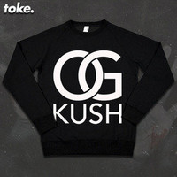 I CAME FROM NOTHING © — Toke - OG Kush - Sweatshirt