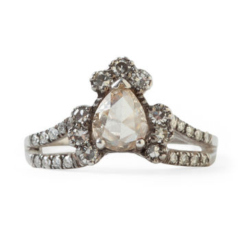 Ritual Solitaire Ring, Diamond - ManiaMania - Catbird
