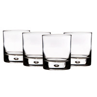 12-oz Bubble Double Old Fashioned Glasses - Set of 4