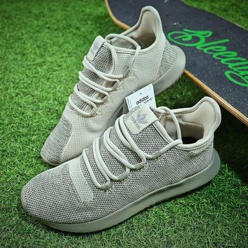 Adidas Tubular Shadow Knit Yeezy 350 Khaki Sport Running Shoes - Best Online Sale