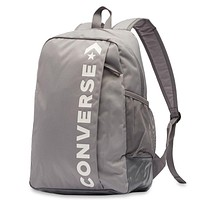 Converse casual men and women outdoor sports wild backpack Grey