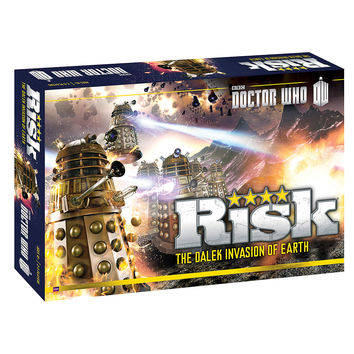 Doctor Who: Risk - The Dalek Invasion Of Earth Game