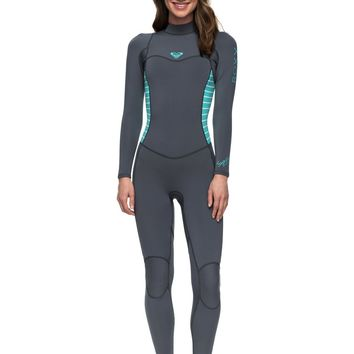 Roxy Womens 3/2Mm Syncro Series Back Zip Wetsuit Erjw103023