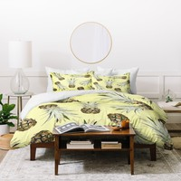 Lisa Argyropoulos Pineapple Jam Duvet Cover