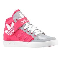 adidas Originals Hard Court Hi Strap - Girls' Grade School