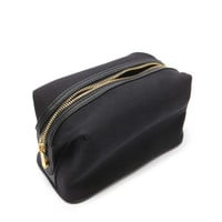 Snap-Button Canvas Makeup Bag | Forever 21 - 1000176683