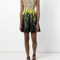 Giambattista Valli Embroidered Top Floral Dress - Max-b - Farfetch.com