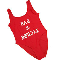 BAD & BOUJEE Women's One Piece Swimsuit