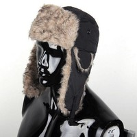 Veneno Black Russian Trapper Hat