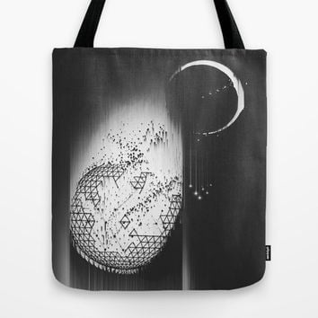 Truth Seekers Only Tote Bag by Ducky B