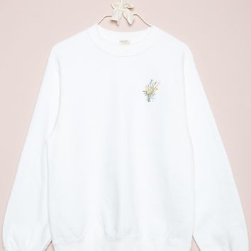 BYRON FLOWER BOUQUET SWEATSHIRT