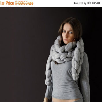 Summer Sale -25% Super chunky chain scarf